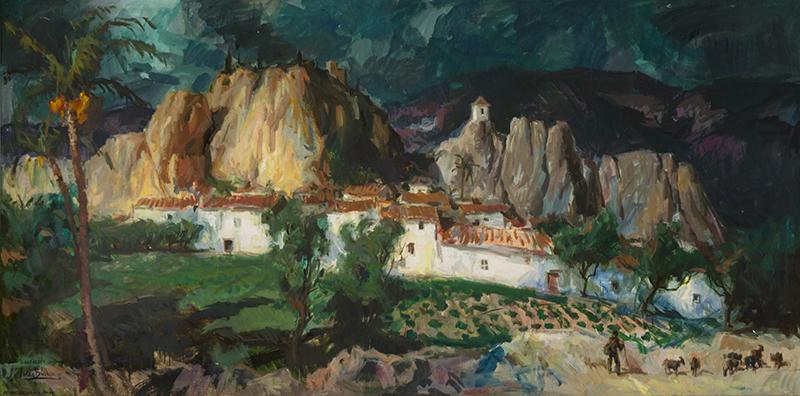 S-0001-17-Ajuntament Xabia-cultura-937-B-Soler Blasco: pintor i activista cultural I