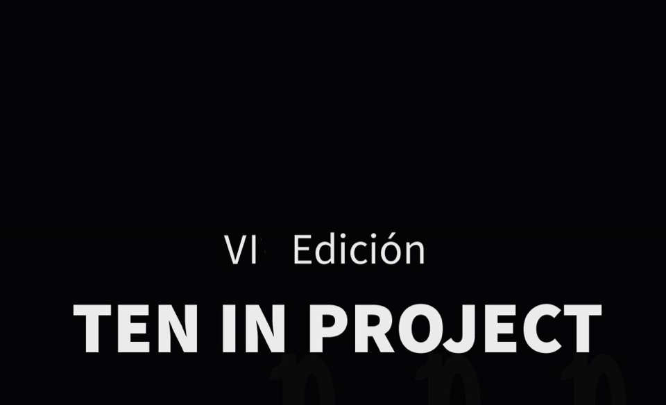 Cartel Ten3-Ten in project – VI edición