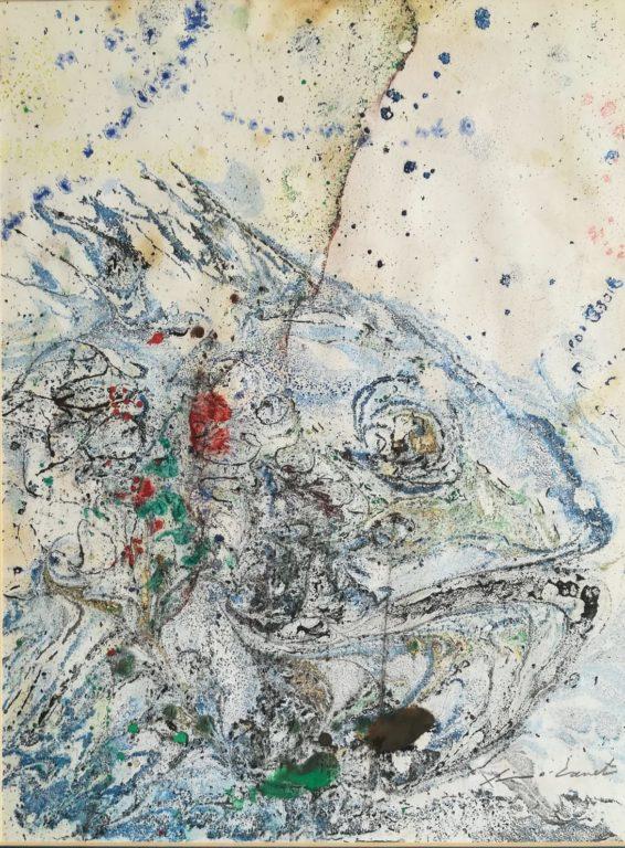 ximo canet-La mar amb peixos: metamorfosi